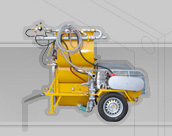 Foam Concrete prod unit